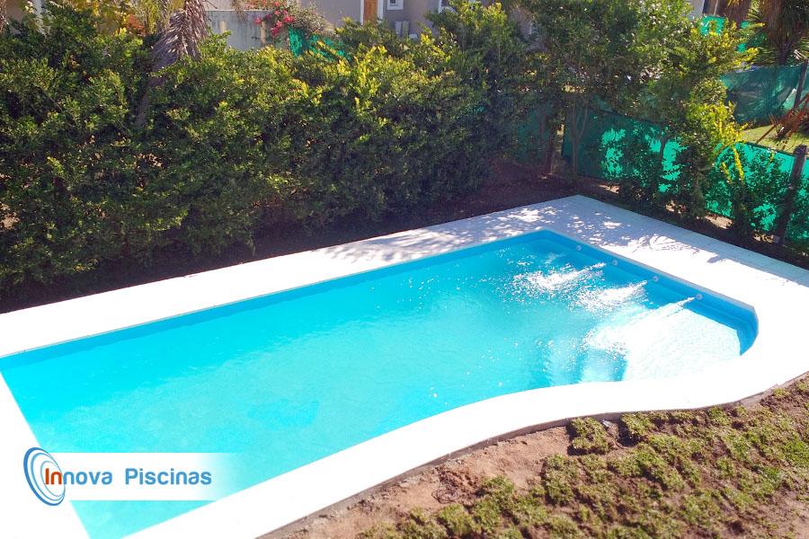 piscina de fibra modelo iguaz innova piscinas